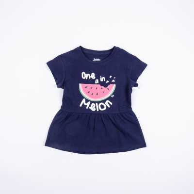 Polera Niña Fruity Navy